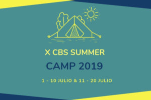 Noticia ABIERTO PLAZO INSCRIPCION CBS Summer Camp 2019