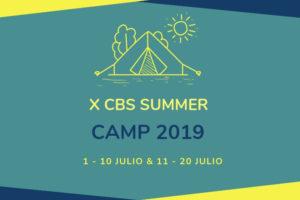 Noticia ABIERTO PLAZO INSCRIPCION CBS Summer Camp 2019