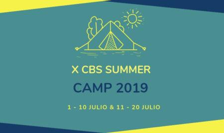 Abierto Plazo de Inscripción del X CBS Summer Camp – Campamento de verano Inglés