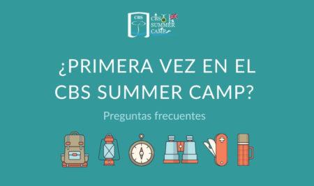 ¿Primera vez en el CBS Summer Camp? Preguntas frecuentes