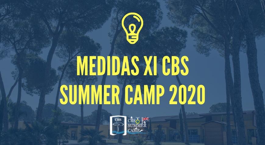 Medidas XI CBS Summer Camp 2020