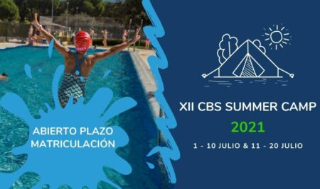Abrimos el plazo de inscripción de nuestro CBS Summer Camp 2021